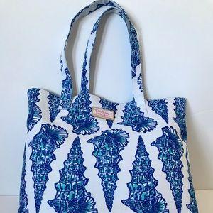 Lilly Pulitzer Estee Lauder Seashell Tote Bag